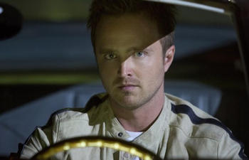 Aaron Paul dans The 9th Life of Louis Drax