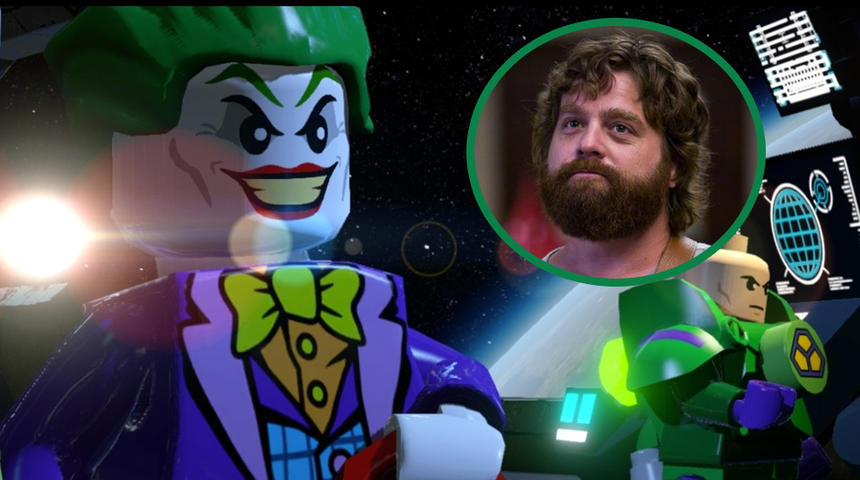 Zach Galifianakis prêtera sa voix au Joker dans The LEGO Batman Movie