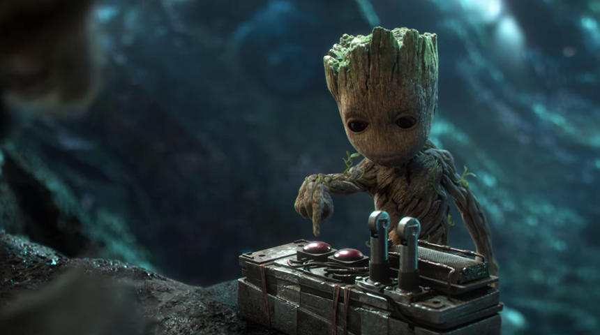 Baby Groot en vedette dans la nouvelle bande-annonce de Guardians of the Galaxy Vol. 2