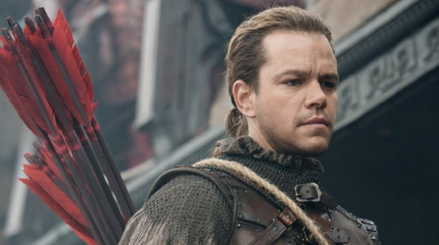 Box-office nord-américain : The Great Wall ne peut faire mieux que la 3e place