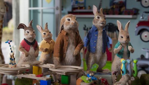 Les bandes-annonces de la semaine : De nouvelles images pour Peter Rabbit 2