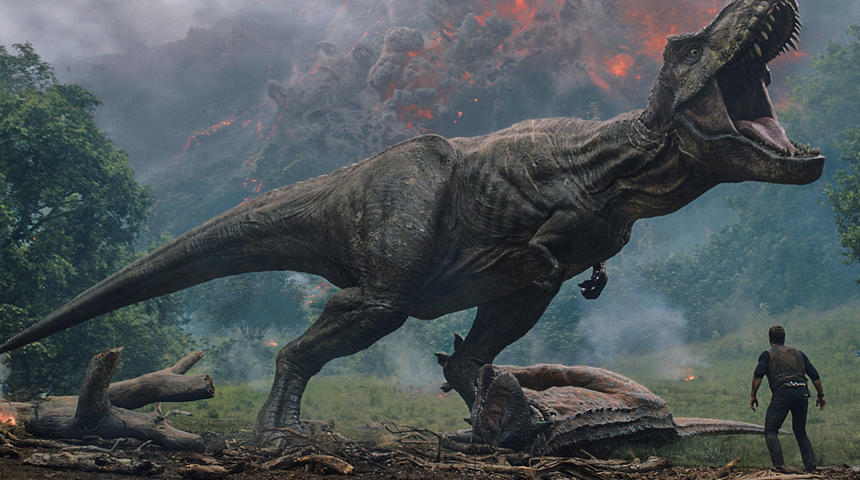 Sorties à la maison : Jurassic World: Fallen Kingdom