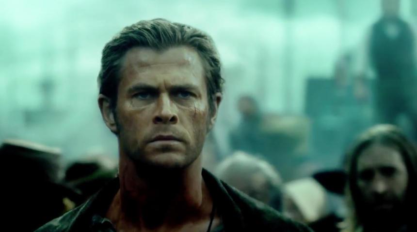 Première bande-annonce de In the Heart of the Sea avec Chris Hemsworth
