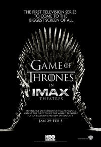Game of Thrones The IMAX Ex­pe­ri­ence (Season 4, Episodes 9 and 10)