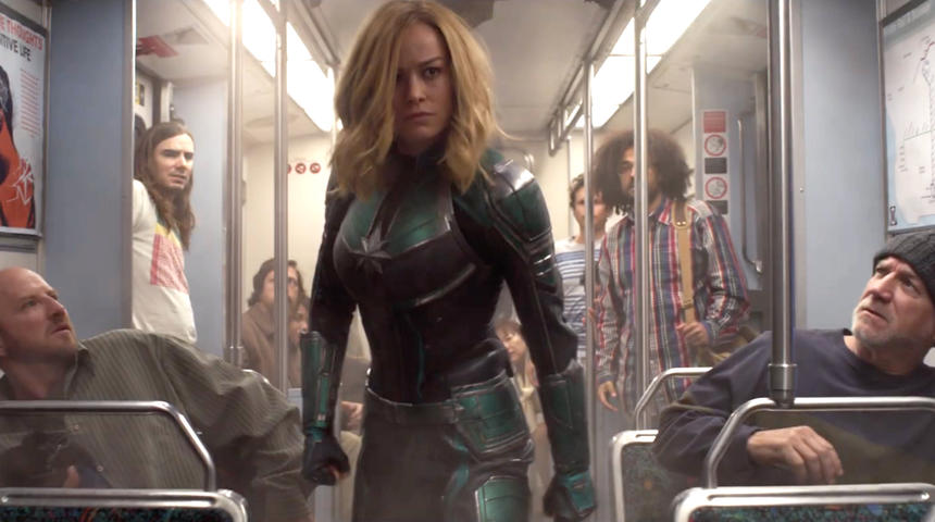 Premières réactions très positives pour le film Captain Marvel
