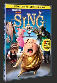 Combo Blu-ray/DVD du film Chantez