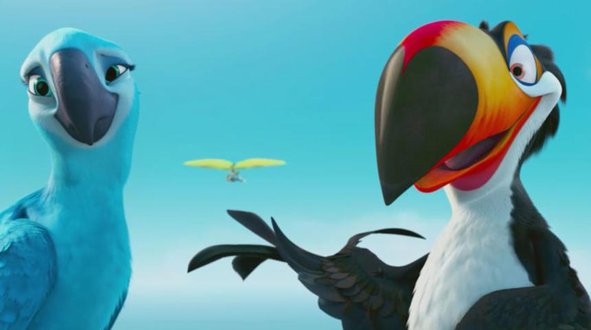 Primeur : Pré-bande-annonce en français du film d'animation Rio