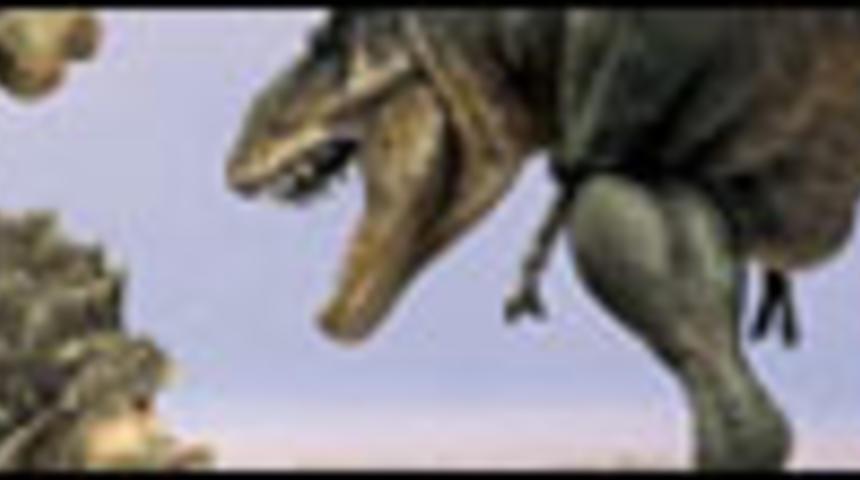 Les dinosaures prennent vie en 3D