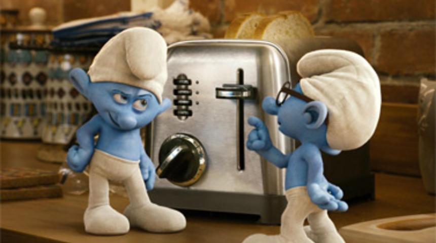 Box-office nord-américain : The Smurfs et Cowboys and Aliens à égalité