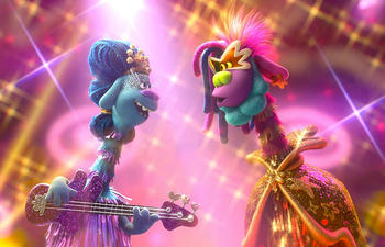 Sorties à la maison : Trolls World Tour et The High Note