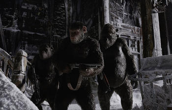 Sorties Blu-Ray et DVD : War for the Planet of the Apes