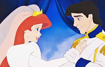 La petite sirène a trouvé son prince Éric