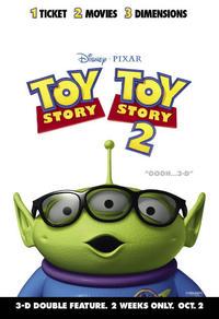 Histoire de jouets 1 et 2 - 3D
