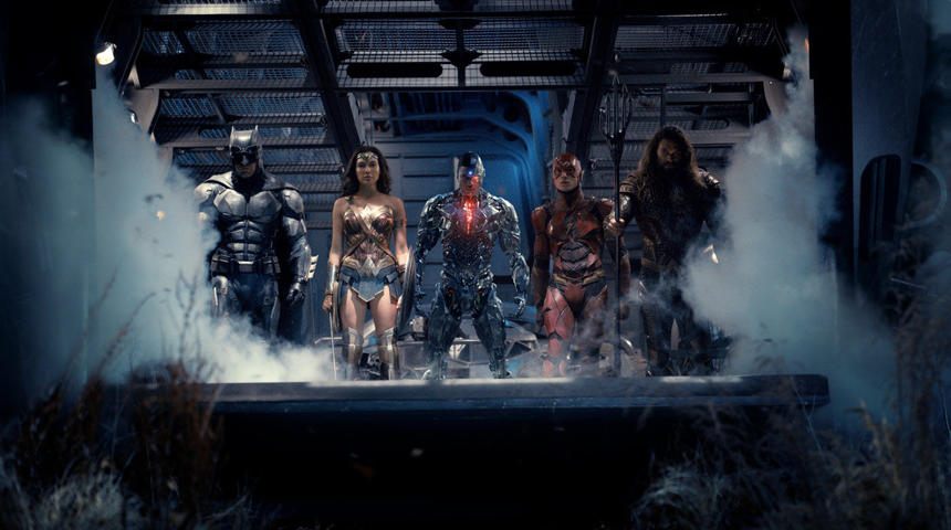 Sorties Blu-Ray et DVD : Justice League