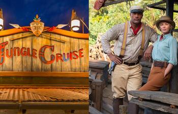 Jungle Cruise : Les stars parlent des ressemblances entre le manège et le film