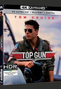 Blu-ray 4K Ultra HD du film Top Gun pour souligner son 35e anniversaire