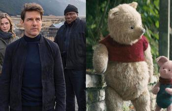 Box-office nord-américain : Winnie et ses amis ne peuvent dépasser Ethan Hunt et son équipe