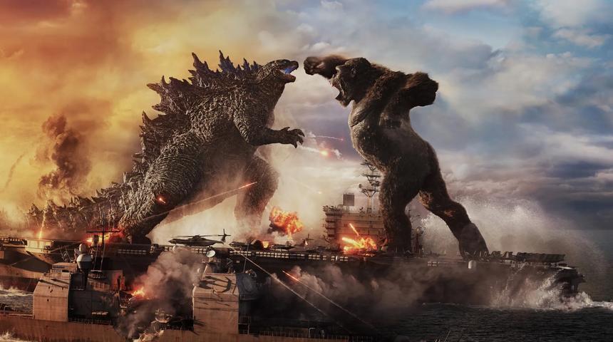 Sorties à la maison : Godzilla vs Kong