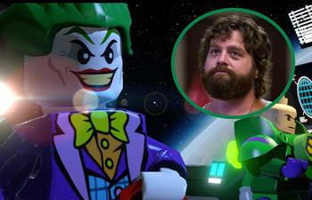 Zach Galifianakis prêtera sa voix au Joker dans The LEGO Batman Movie