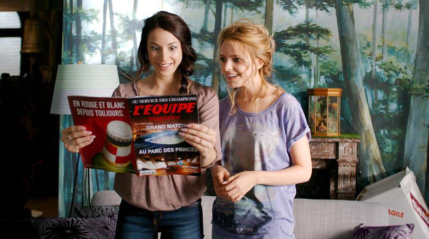 Sarah-Jeanne Labrosse et Mylène St-Sauveur jouent les fées marraines dans Un jour mon prince