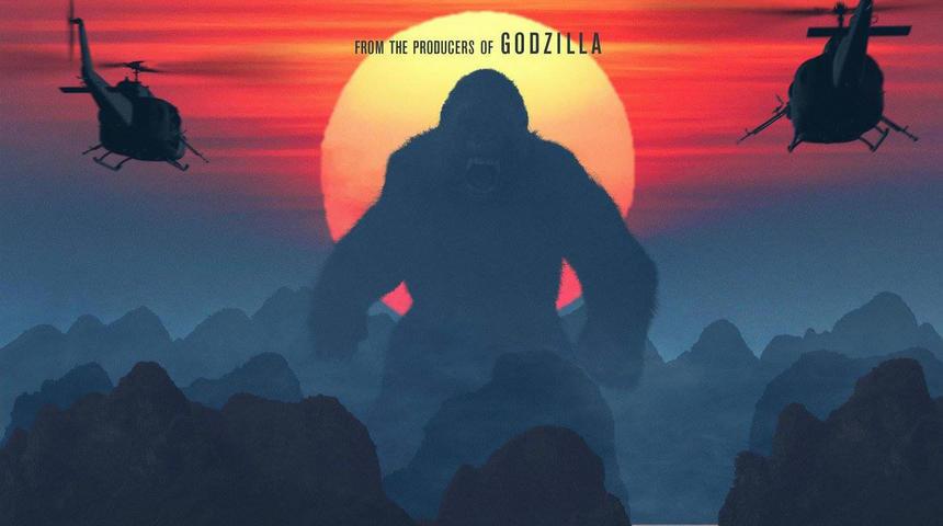Deux superbes nouvelles affiches du prochain film de King Kong dévoilées
