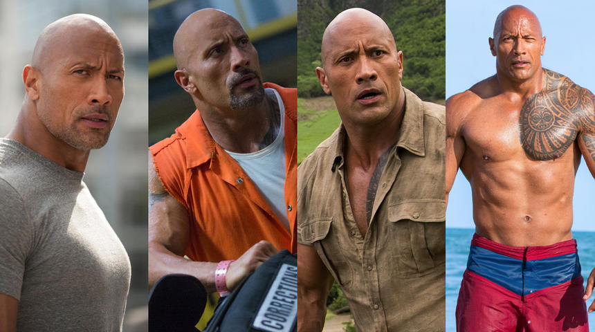 Quand Dwayne « The Rock » Johnson est dans la place