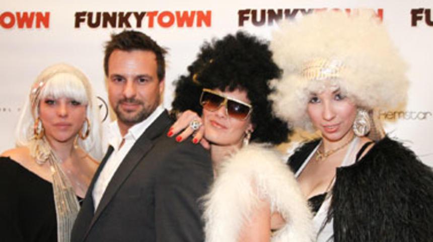Première du film Funkytown