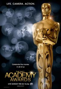 La cérémonie des Oscars 2012