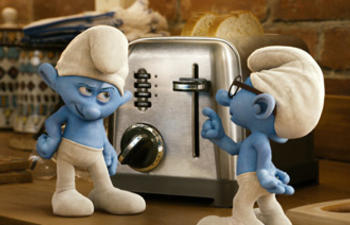 Box-office nord-américain : The Smurfs et Cowboys and Aliens à égalité