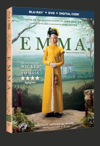 Combo Blu-Ray + DVD + copie numérique du film Emma.